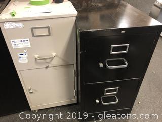 2 File Cabinets