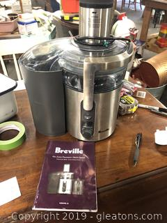 Lot Of 2 Items Breville Juice Fountain Krups Expresso Machine