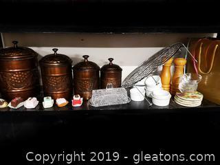 Very Nice Shelf Lot (H)