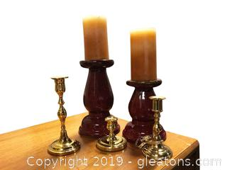 Lot Of Candle Sticks