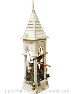 Decorative Wooden Open Gazebo Style Bird House