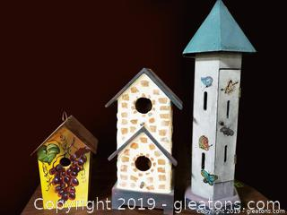 Unique Lot Of Birdhouse