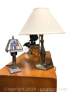 Lot Of Beautiful Lamps