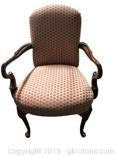 French Style Vtg Arm Chair