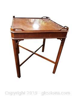 """""""Drexel"""" Side/End Table Slightly Damaged"""