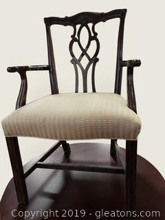 Nice Covered Armchair Accent/Office Furniture