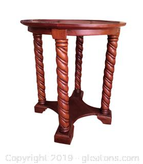 Very Unique Round Side/Accent Table