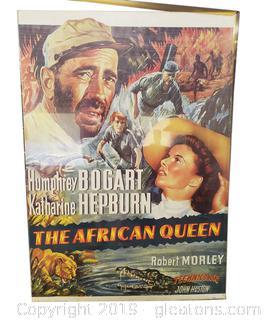 Vtg Humphrey Bogart Katharine Hepburn