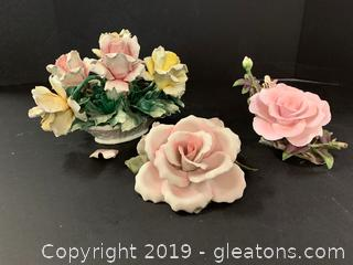 Capodimonte Lot (3 Items)
