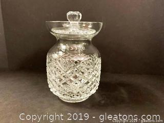 Thomas James Crystal Canister
