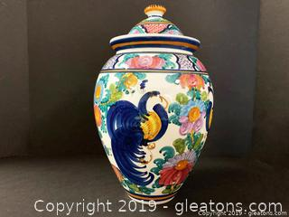 Hand Painted Greek Urn