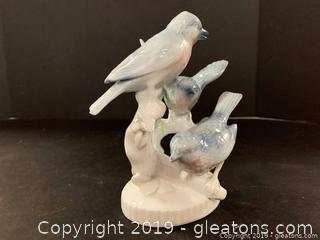 German Porcelain Birds