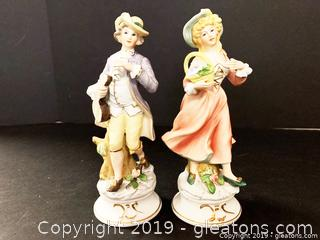 Hand Painted Porcelain Figurines