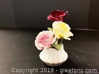 Goebel Capodimonte Roses