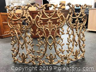 Cast Iron Fireplace Screen Neiman Marcus