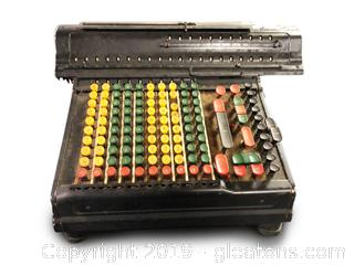 Antique Marchant Calculator