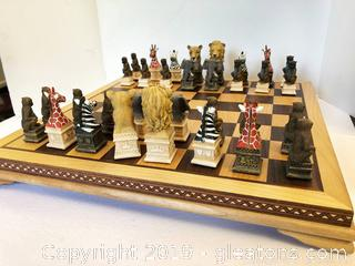 Safari Chess Set