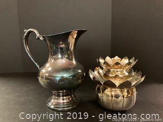 Lenox and Reed and Barton Silver Plate