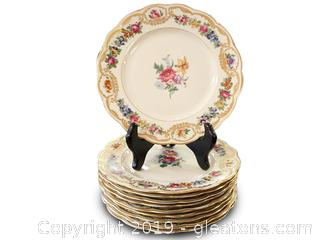 Royal Bayreuth Plates (10 Pieces)