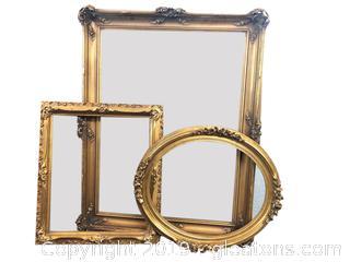 Gold Gilded Frames Lot