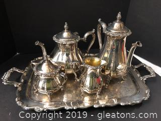 Silver Plated Oneida USA (Coffee + Tea)