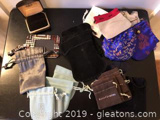 Lot of Jewelry bags