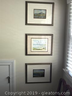 lot of 3 Irish Prints A