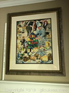LeRoy Neiman French Cheese Print