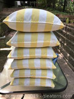 Cabana Stripe Sunbrella Outdoor Pillows