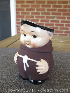 Goebel Friar Tuck Monk Creamer