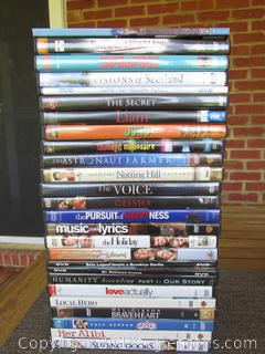 Lot of 26  DVDs