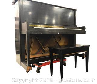 Kurtzmann Upright Piano With Stool