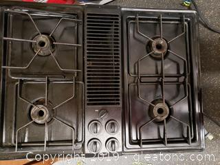 Whirlpool Gass Burner Counter Top Stove