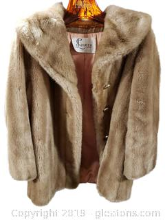 Vtg. Lazarus Of Virgina Fur Coat
