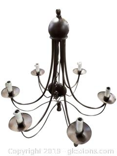 Small (6) Candlestick Light Chandelier