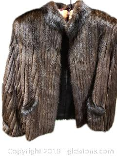 Stunning Mink Fur Coat By: Henri Kessler