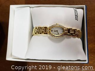 "New In Box ""Seiko"" Women's Watch"