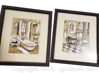 PR Of Bathroom Framed Prints