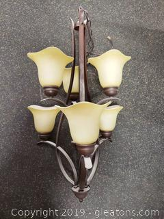 Nice (6) Light Chandelier