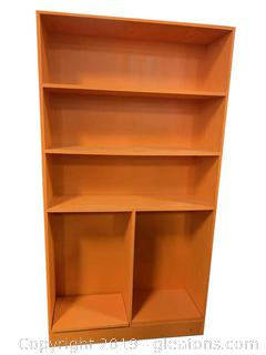 Orange Bookshelf
