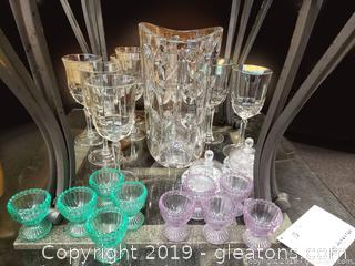Glass/Crystal Lot