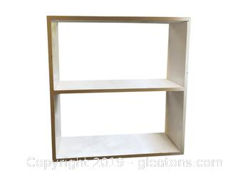 White Wall Hang Bookshelf