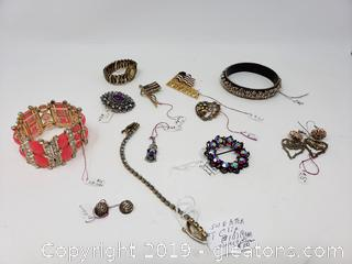 Vtg. Costume Jewelry Lot