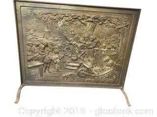 1900 English Fire Screen
