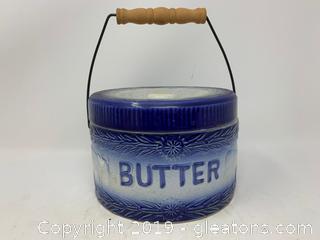 Vintage Butter Crock