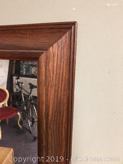 Antique Eglomise Mirror