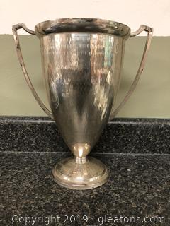 Vintage Silverplared Urn Vase
