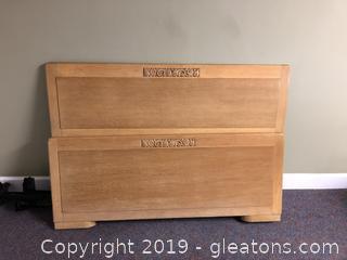 Full size Antique Oak Bed Frame