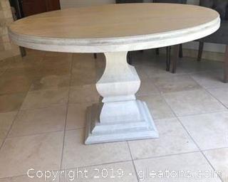 Ballard Designs 4ft Round Pedistal Table