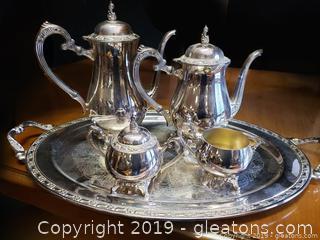 Silver Plate Wm Rogers Oneida